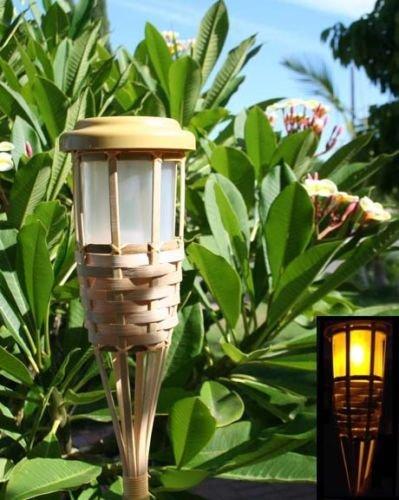 Bamboo Solar Garden Lights