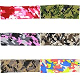 Xife® Baby Headbands Newest Camouflage Cotton Turban Travel Head Warps