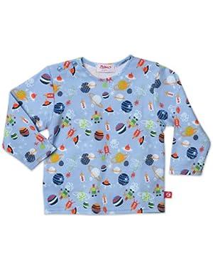 Print Long Sleeve T Shirt
