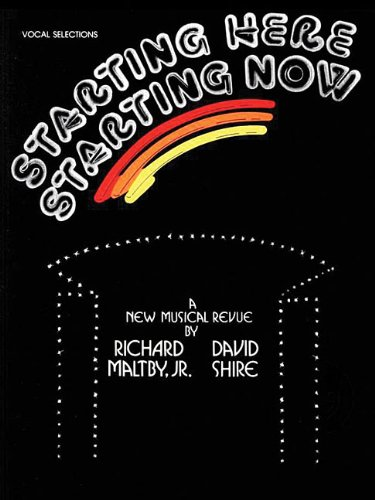 Starting Here, Starting Now: Vocal Selections