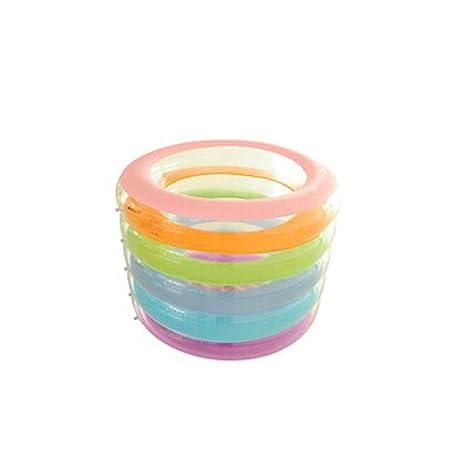 Regla five-ring bebé piscina inflable para los niños burbuja ...