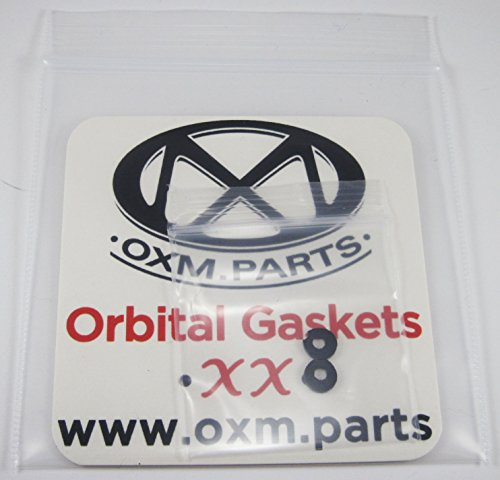 OXM.Parts XX X Metal Orbital Gaskets Replacement Rubber Lens Shocks for Oakley X Metal - Rubber Replacement Oakley