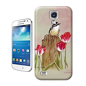Tostore Birds Figure#1 battery cover for samsung galaxy s4 case by ruishername