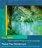 The OPL Optimization Programming Language by Pascal Van Hentenryck (1999-01-08)