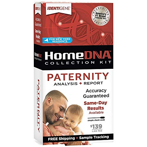 IDENTIGENE DNA Paternity Test Collection Kit for New York Residents