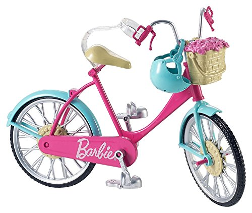Bycicle Barbie Beautiful!!! Pink and teal. Age 3 years+ toys girls gifts play DOLL NOT INCLUDED (Barbie Gift Basket)