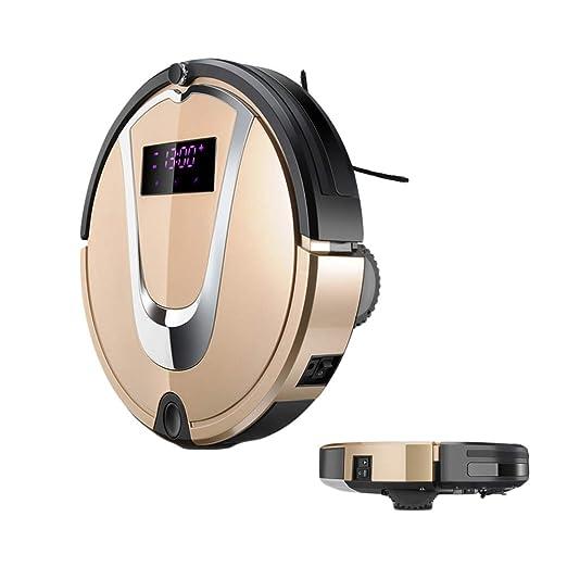 Liuwenju Robot Aspirador 3 en 1, aspira y friegacon sensores ...