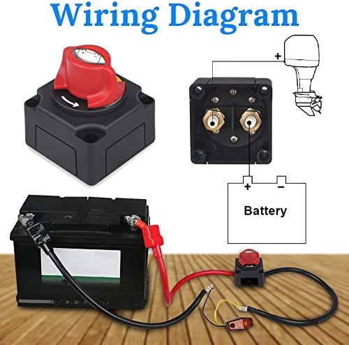 Amazon.com: NSTART Boat Battery Cut/Shut Off Kill Switch,12V-48V Marine  Battery Disconnect Switch,Waterproof Master Power Dual Battery Isolator  Switch 300/1000 Amp for Car Small Yacht RV Camper Truck Vehicle: Industrial  & ScientificAmazon.com