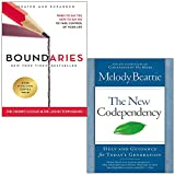 img - for Boundaries Updated and Expanded Edition and New Codependency 2 Books Collection Set book / textbook / text book