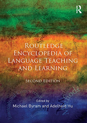 Download Routledge Encyclopedia of Language Teaching and Learning Pdf
