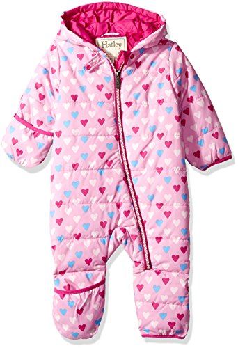 Hatley Baby Girls Mini Winter Bundlers, Little Hearts, 9M-12M (Hatley Heart)