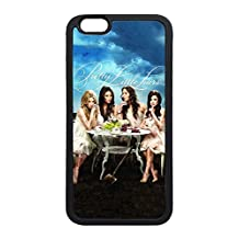 iPhone 6 Case, Personalize iPhone 6 Protective Scratch Proof Soft Rubber TPU Black Case Bumper Cover for New Apple iPhone 6 4.7 Inch - Pretty Little Liars Drinking Game