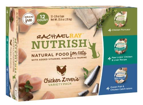 Rachael Ray Nutrish Natural Wet Cat Food Variety Pack (Pack of 2)