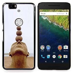 Stuss Case / Funda Carcasa protectora - Estructura Arte Cabeza Bolas Espiritual - Huawei Google Nexus 6P