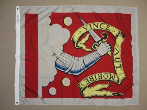 Bedford Flag (Annin Flagmakers 319726 Nyl-Glo Bedford Flag-3 ft. X 3 ft.)