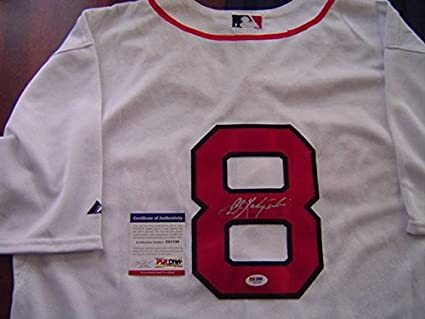 cheap for discount 49fa4 2924a Carl Yastrzemski Autographed Jersey - 1967 TRIPLE CROWN ...