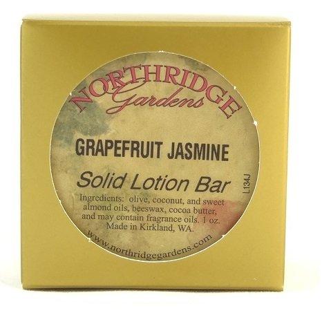 Northridge Gardens Grapefruit Jasmine Solid Lotion Bar 1oz