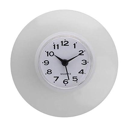 wiFndTu Horloge Réveil Cuisine Imperméable Salle de Bain Douche ...