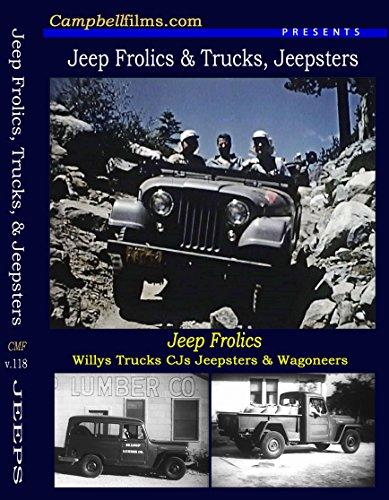 Jeep Frolics Willys CJ5 Wagoneer Jeepster Gladiator Trucks old films DVD ()