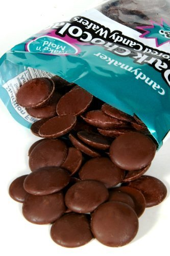 Chocolate Flavored Wafers (Make 'N Mold Candy Wafers - Dark Chocolate Flavored)