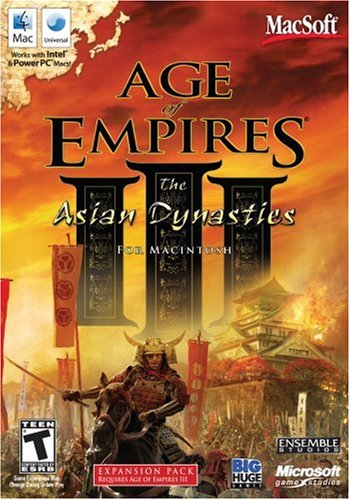 Age Of Empires III: The Asian Dynasties - Expansion Pack (Heroes 3 Mac)