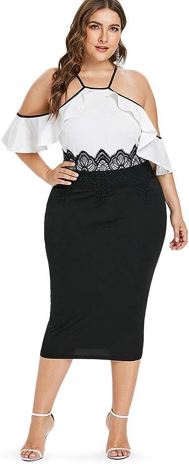 Posional Vestidos Verano Mujer Tallas Grandes Bodas Faldas de Tul ...