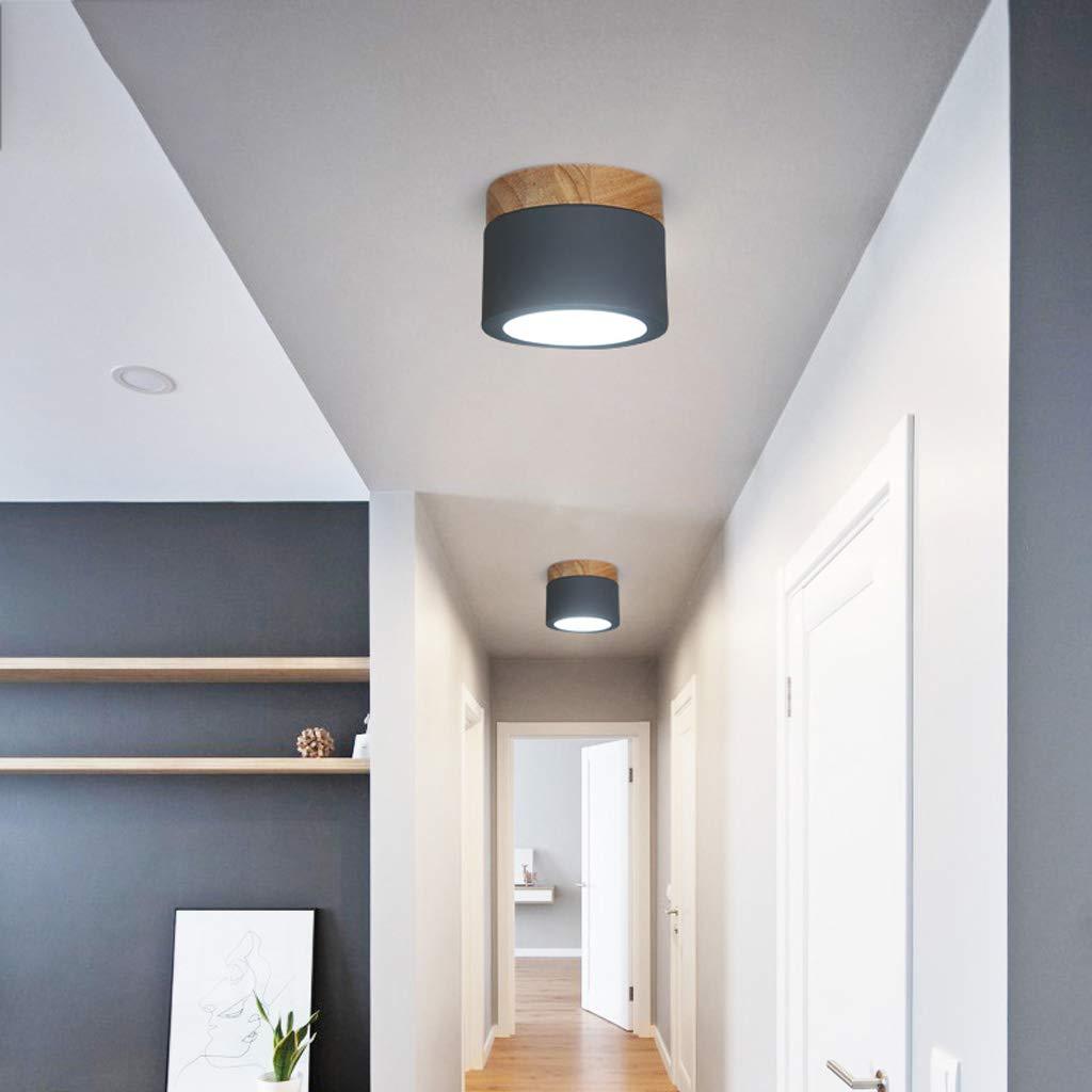 Nordic COB Spotlight Aufputz Downlight 5 Watt Wohnzimmer Decke Wand Runde Spotlight Loch Licht Gangbeleuchtung
