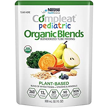 Image of Baby Compleat Pediatric Organic Blends Plant Based, 10.1 fl oz Pouch, 24 Count