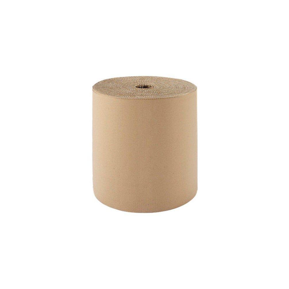 Cenpac - Carton ondulé simple face 375G/m2 laize de 80 cm x 55 M - 570807 - DIAMWOOD