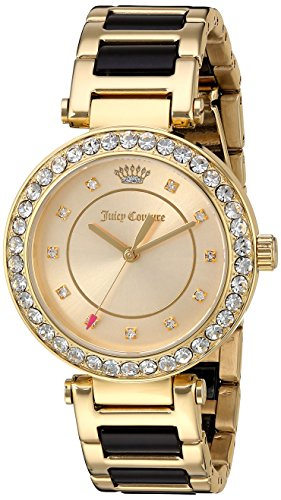 Juicy Couture Women's 'Cali' Quartz Gold-Tone and Ceramic Casual WatchMulti Color (Model: 1901422)