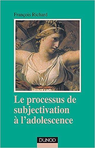 Livre Le processus de subjectivation à l'adolescence pdf ebook