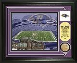 The Highland Mint Baltimore Ravens Single Coin Stadium Photo Mint