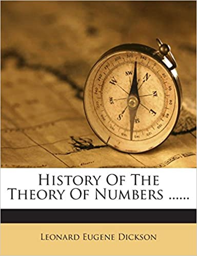 Book History Of The Theory Of Numbers ......