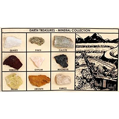 Natural Wonders Earths Treasures Mineral Collection: Toys & Games