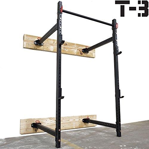 Titan Fitness T-3 Series Fold Back Power Rack 41