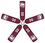 Fan Blade Designs Mississippi State Bulldogs Ceiling Fan Blade Covers