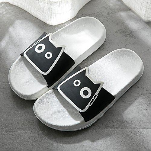 ciabatte freddo uomini adorabile anti fankou fondo 41 bianco plastica estate bagno bagno di female slittamento coppia 42 ciabatte pantofole morbido soggiorno da P0wqwX5