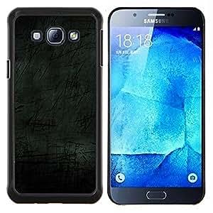 KLONGSHOP // Cubierta de piel con cierre a presión Shell trasero duro de goma Protección Caso - Simple Patrón 7 - Samsung Galaxy A8 A8000 //