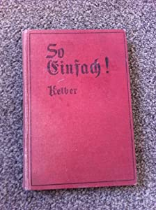 Hardcover So Einfach! Book