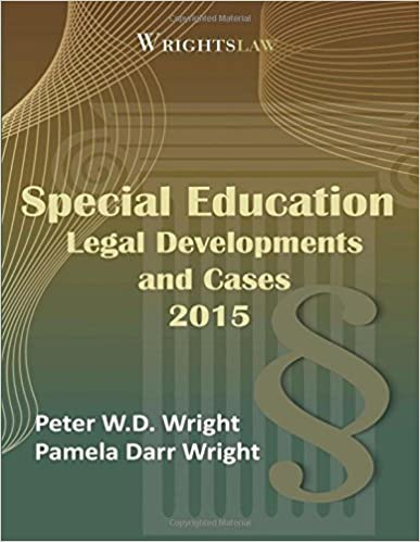 Book Wrightslaw: Special Education Legal Developments and Cases 2015
