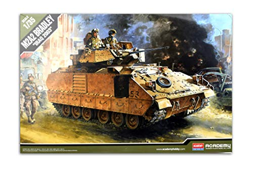 Academy 1/35 M2A2 Bradley Iraq 2003 Tank Plastic Model Kit - Models Russian