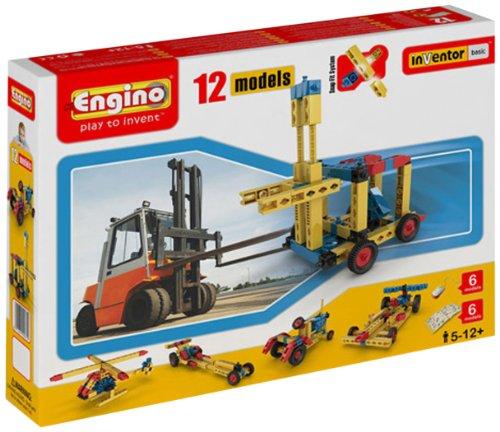 Engino  - 12 Model  Construction Set