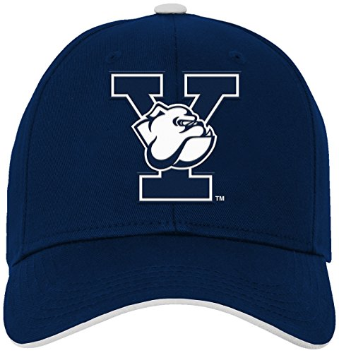 (NCAA by Outerstuff NCAA Yale Bulldogs Kids & Youth Boys Basic Structured Adjustable Hat, Dark Navy, Kids One Size)