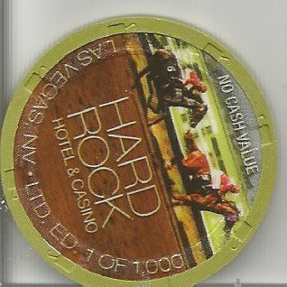$ Hard rock no cash value green horse racing 2nd annual nevada casino chip