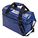ao cooler vinyl - AO Coolers Water-Resistant Vinyl Soft Cooler with High-Density Insulation, Royal Blue, 24-Can