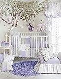 Glenna Jean Penelope 3 Piece Quilts Set, Lavender/Mint/White