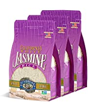 Lundberg California White Jasmine Rice Gluten Free 32 Oz. Pack Of 3.