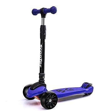 Amazon.com: Patinete Kick plegable con rueda iluminada ...