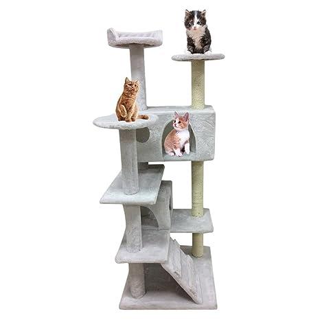 TataYang Árbol de gato rascador de gato árbol de la torre del ...