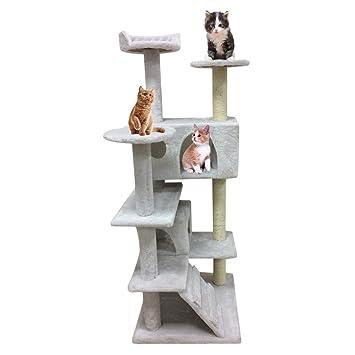 TataYang Árbol de gato rascador de gato árbol de la torre del árbol rascador gato árbol